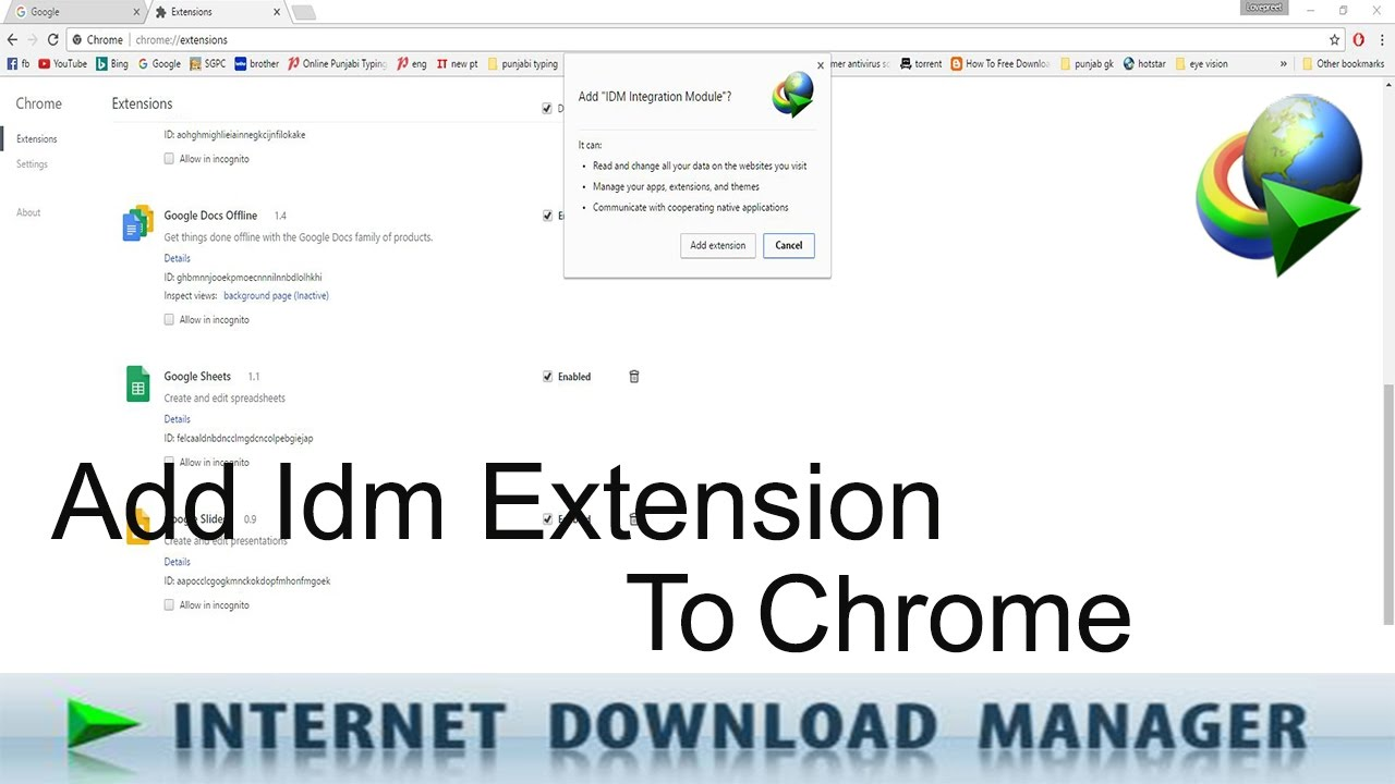 Download idmgcext crx for chrome